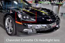 C6 Corvette Headlight Replacement Lens  Lenses Driver Passenger PAIR 2005-2013