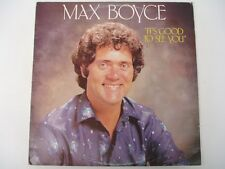 MAX BOYCE - It's Good To See You - 1981 LP