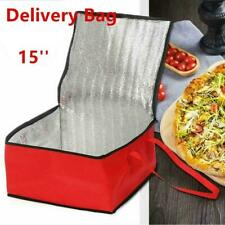 15'' Pizza Food Delivery Bag Insulated Thermal Storage Holder Keep Fresh Picnic