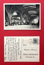 AK LEIPZIG 1948 Innenansicht vom Hauptbahnhof   ( 40168