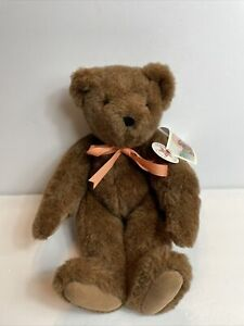 Authentic Vermont Plush Teddy Bear Jointed With Tags