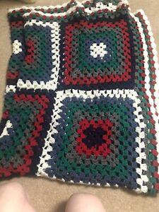 handmade crochet blanket throw