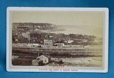 1870/80s CDV France Carte De Visite Photo Dieppe Entree Du Port A Maree Basse