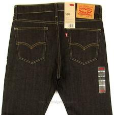 Levis 510 Jeans Skinny Fit Mens New Size 32 x 32 DARK BLUE STRETCH Levi's NWT