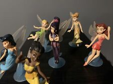 Disney Fairies Complete Set of 6 Tinkerbell Fawn Store Exclusive Pixie Hollow