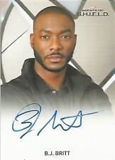 "Marvel Agents of Shield Season 2 - B.J. Britt ""Agent Triplett"" Autograph Card"
