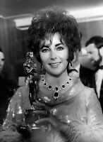 8x10 Print Elizabeth Taylor 1966 Oscar Who's Affraid of Virginia Woolf #ETO