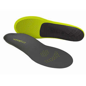 Superfeet Insoles Inserts Orthotics Arch Support Cushion - Carbon