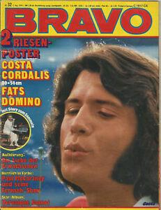 Bravo-Heft Nr.32 aus dem Jahr 1974 / Costa Cordalis