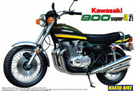 Aoshima 1:12 Scale Kawasaki 900 Super Four Z1 Model Bike Kit #362