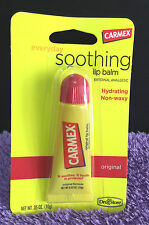 Carmex Original Soothing Moisturizing Lip Balm Tube Worldwide 0.35 Oz Lipcare