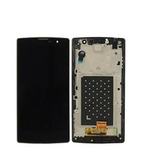 New LG Magna H502F H500F Y90 Black Touch Digitizer Lcd +Frame Display Assembly