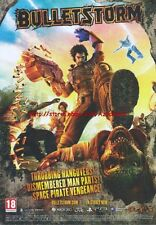 Bulletstorm 2011 Magazine Advert #4379
