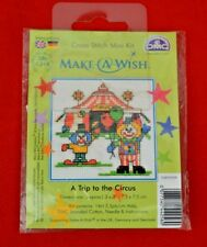 """Kit de Bordar DMC en miniatura! """"pide un deseo.. un viaje al circo!""""!!!! nuevo!!!"""