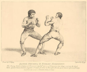 Boxing Print by C.R.Ryley Mendoza and Humphreys