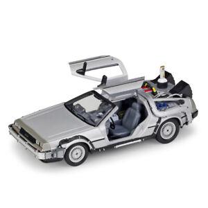 1:24 DeLorean DMC-12 Back to the Future 2 BTTF2 Time Machine Model Car Gift