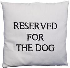 Réservé à la conception de chien-Naturel perceuse Coussin Couverture-Coussin non inclus