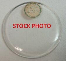 BULLSEYE D 481 to 360 Crystal / Pocket Watch Glass - NOS Ligne 16 17 18 19 20 21