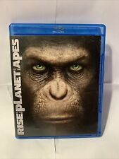Rise of the Planet of the Apes Two Disc Edition Blu Ray and Dvd