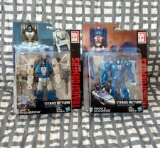 TransFormers Titans Return Scourge HighBrow Headmaster wave  MOC G1 Lot New