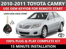 Plug & Play Remote Start  2010-2011 Toyota CAMRY G-KEY