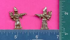 lead free pewter sorcerer with bat figurine #74