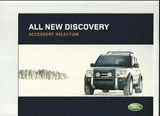 LAND Rover Discovery ACCESSORI SALES BROCHURE 2004
