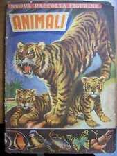 ALBUM FIGURINE ANIMALI LAMPO 1954  ( X4 )