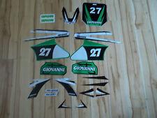 gio dirt bike 125cc sticker kit (green)