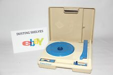 RARE! Vintage 1978 Fisher Price Turntable