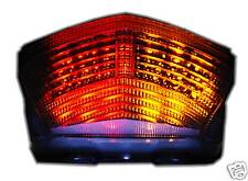Smoked integrated LED tail light with signal function Yamaha TDM 900 TDM900