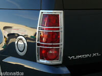 GMC YUKON XL SUV 2007-2014 TFP ABS CHROME TAIL LIGHT COVER INSERT ACCENT
