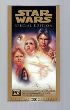 Star Wars: Special Edition  - 1997  - VHS