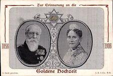 Woven Silk. Goldene Hochzeit by J.Sanger. Zur Erinnerung an die. White Frame.