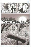 ELFQUEST #16 ORIGINAL COMIC BOOK ART PAGE WARP GRAPHICS COMICS ELF QUEST INKWASH