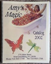 Amy's Magic 2002 Rubber Stamp Catalog