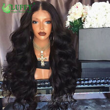130%25-250%25 High Density Full Lace Wig Peruvian Hair Body Wave 13�—6 Lace Front Wig