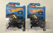 Hot Wheels 2016 - The Bat (Black) #227 Batman Lot Of 2 Free Shipping.