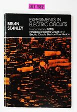 Experiments In Electric Circuits for Floyd Principles By Stanley 1982 LOT Y82