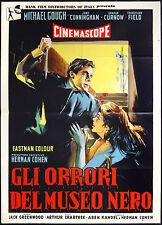 CINEMA-manifesto GLI ORRORI DEL MUSEO NERO gough, cunningham, curnow, CRABTREE