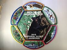 2013 Great Smoky Mountain Council National Scout Jamboree Jacket Patch w/ 6 JSP