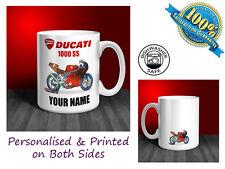 Ducati 1000 SS Motorbike Personalised Ceramic Mug Gift (MB028)