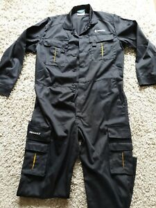 BALLYCLARE RENUALT OVERALL BOILERSUIT BLACK SIZE XL SEE PICS QUALITY