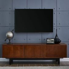 Mid Century Modern TV Stand Entertainment Center Console Media Cabinet Wood 63