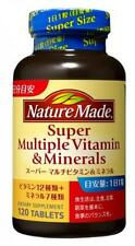 New Nature Made Super Multi Vitamin & Mineral 120 Capsules From Japan