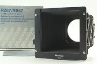 [Mint in Box] Mamiya Bellows Lens Hood G-3 for RZ67 RB67 from Japan