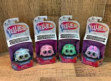 Yellies Bunnies Hasbro New NIB Lot Set 4 Fluffertail Bunnington Smoosh Biscuit