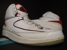 2008 NIKE AIR JORDAN II 2 RETRO COUNTDOWN CDP WHITE BLACK RED CEMENT GREY 11