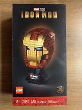 New Listing*Free Shipping* Lego 76165 Marvel Avengers Iron Man Helmet Factory Sealed Box