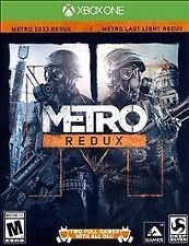 METRO REDUX 2 full games in one! NEW.  (Microsoft Xbox One, 2014)